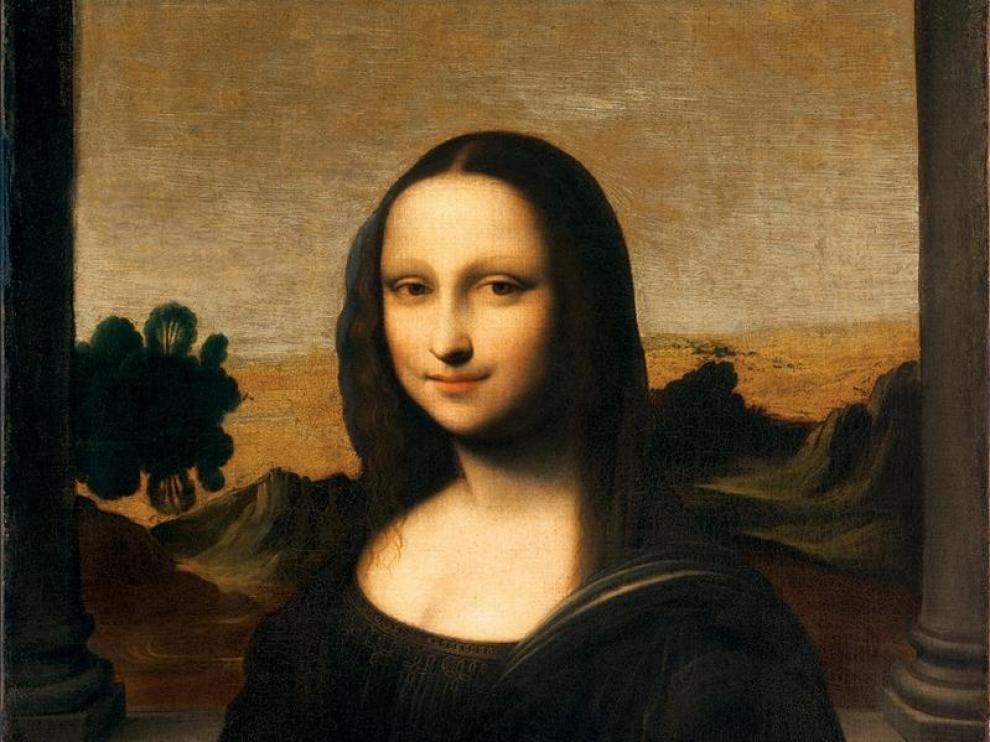 La llamada 'Mona Lisa de Isleworth' muestra a una dama más joven que la de el Louvre
