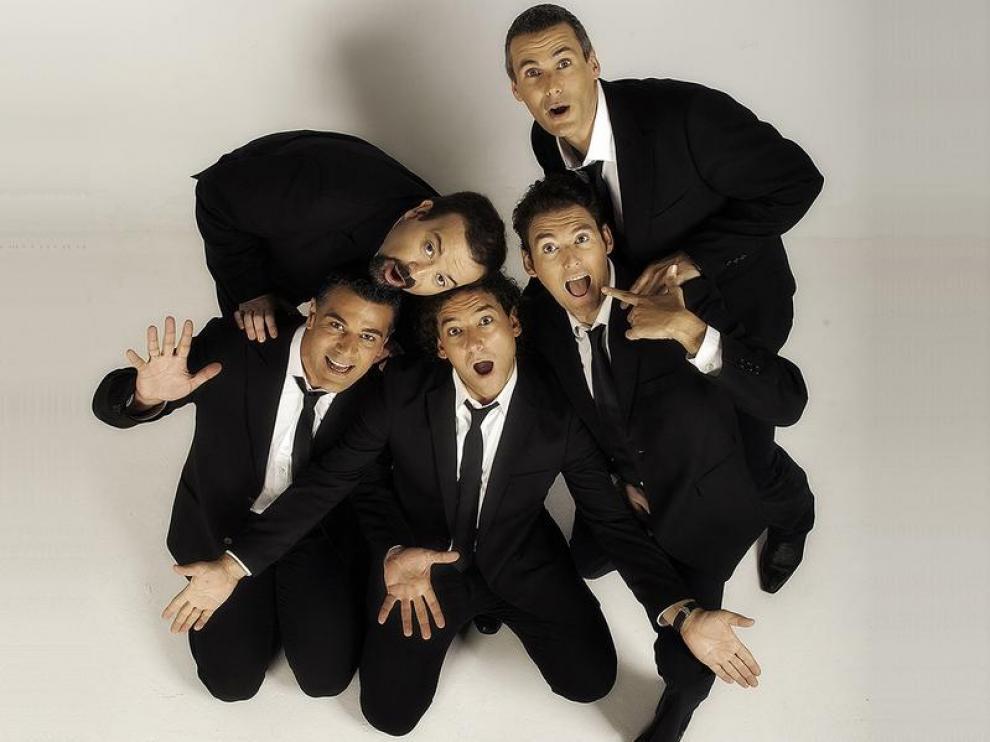El quinteto aragonés, b vocal
