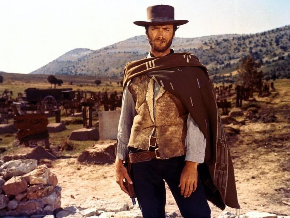 Escena de la película que protagoniza Clint Eastwood