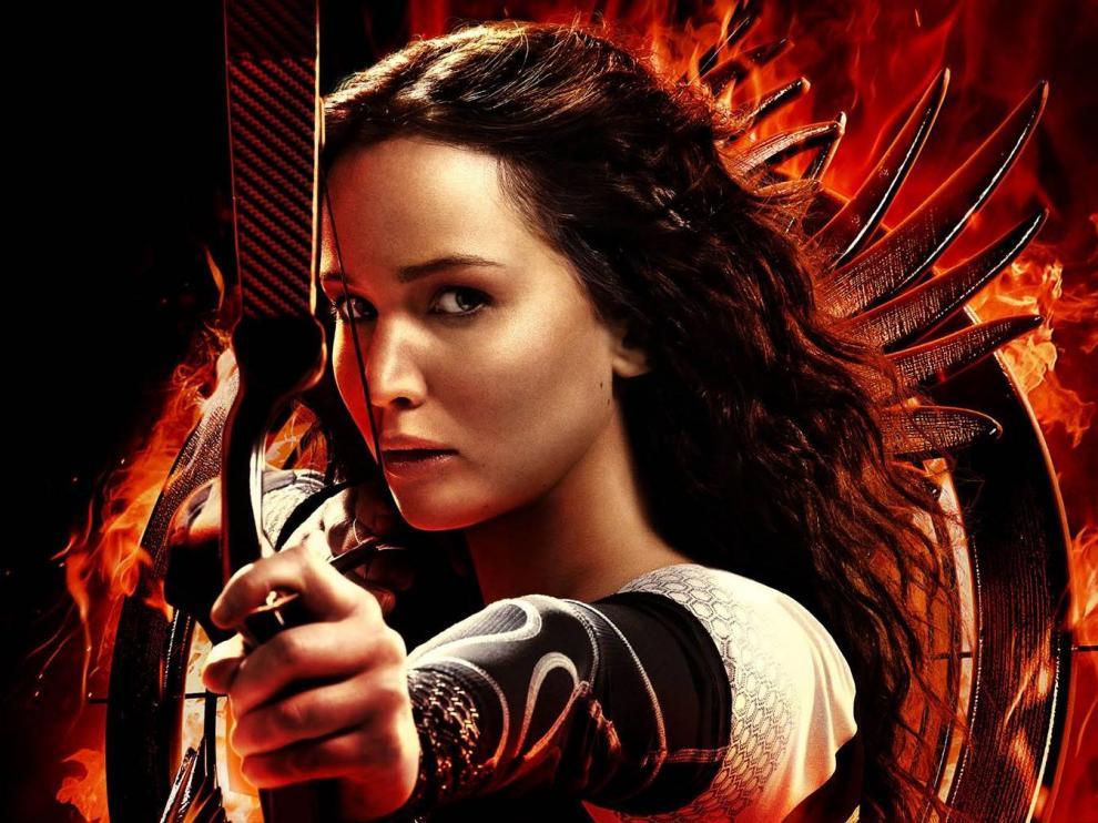 Cartel de la película 'Los juegos del hambre: en llamas'