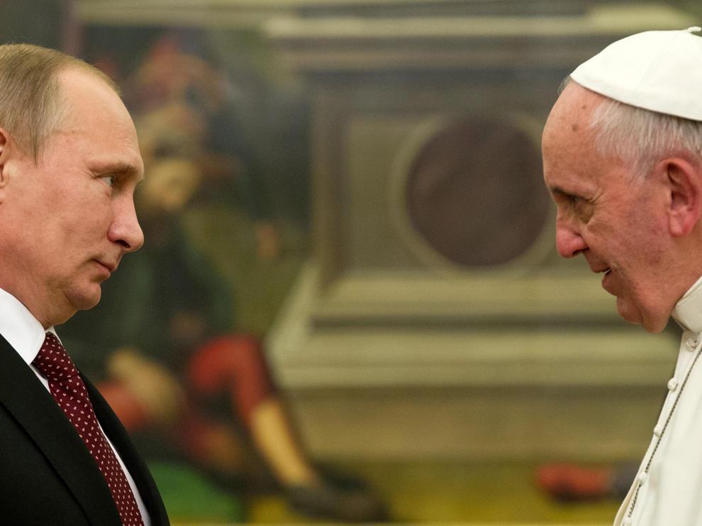 Putin y el Papa se han encontrado en el Vaticano
