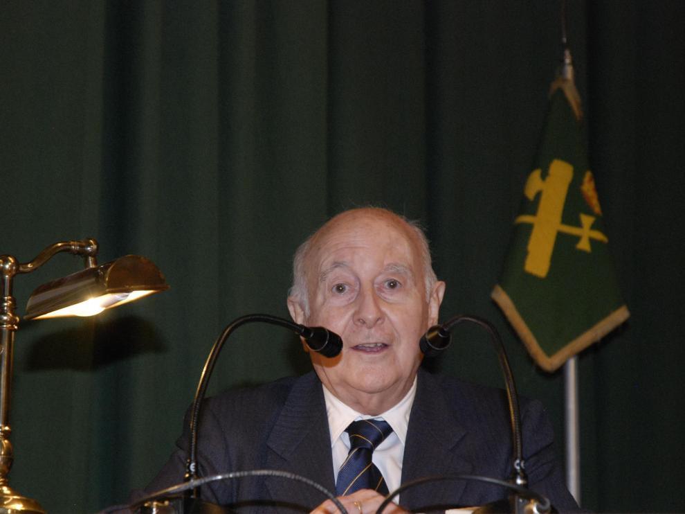 Faustino Menendez Pidal en una imagen de 2008