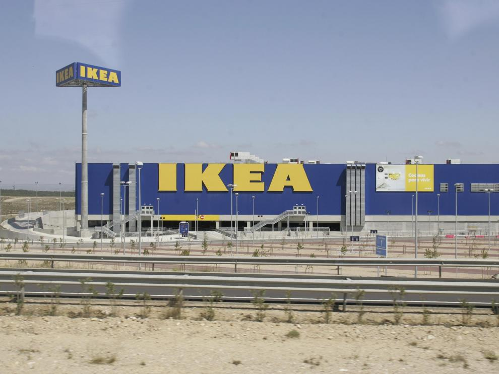 El centro de Ikea en Zaragoza.