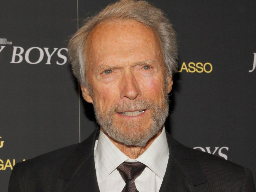 Clint Eastwood durante la presentación del musical.