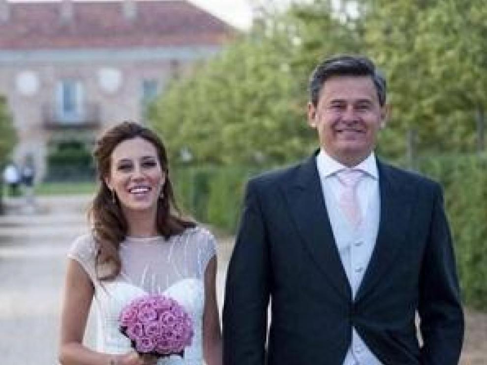Miki Nadal y Carola Escámez se casaron el pasado fin de semana