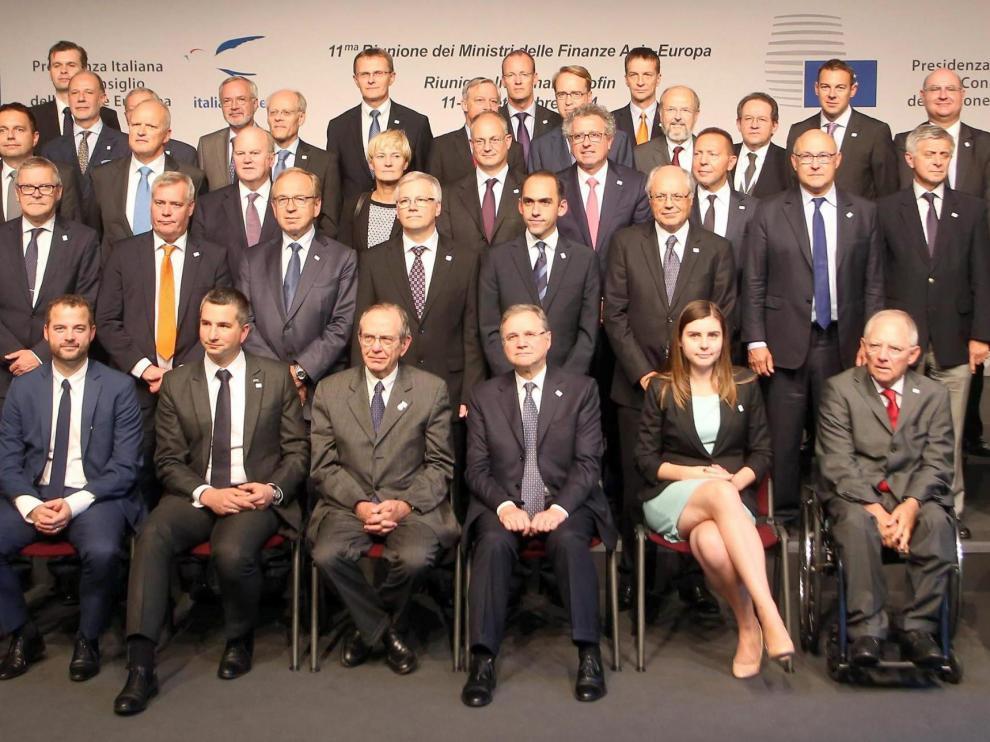 Foto de familia del Ecofin