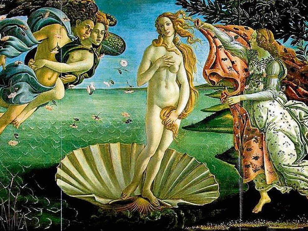 'Nacimiento de Venus', de Sandro Botticelli.