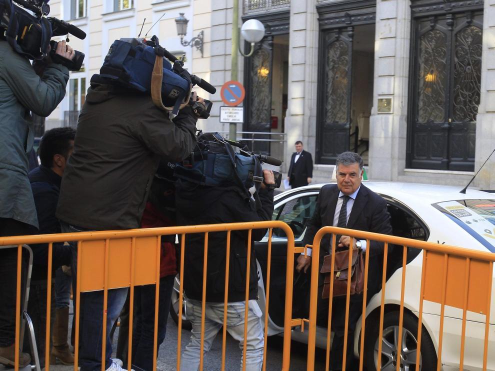 El exconsejero de Empleo de la Junta de Andalucía José Antonio Viera