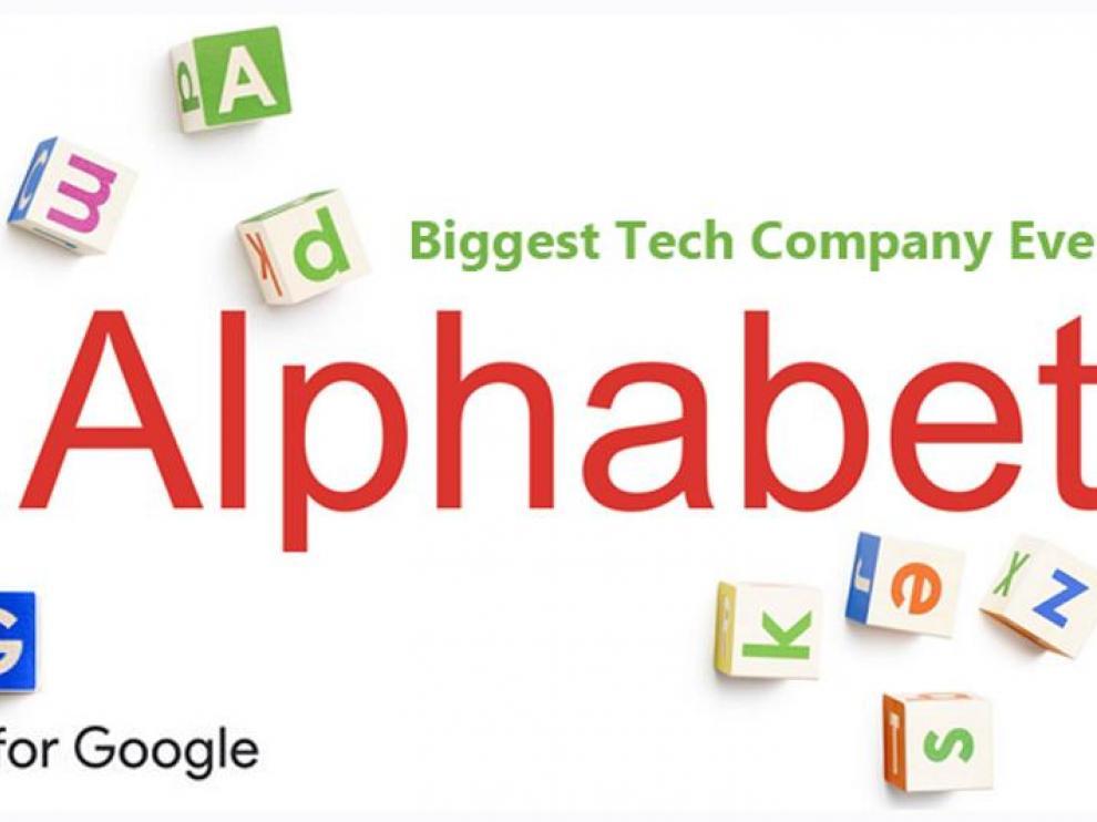 Alphabet, matriz de Google.