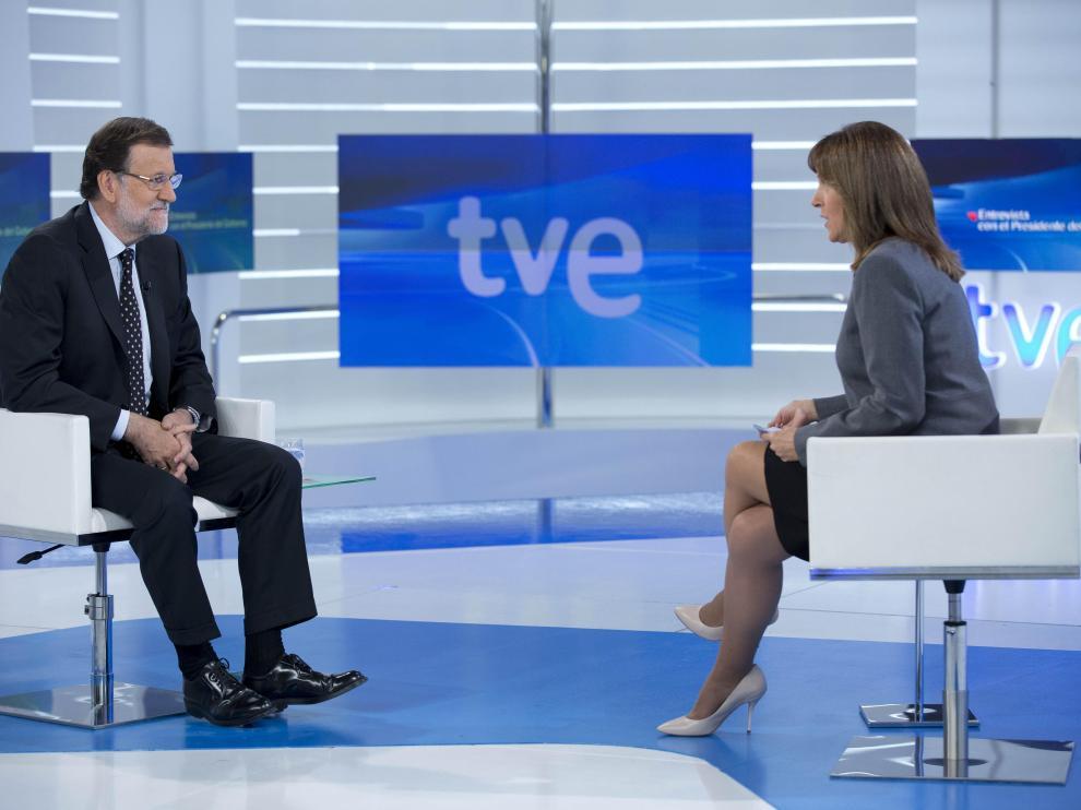 Entrevista de Mariano Rajoy en TVE.