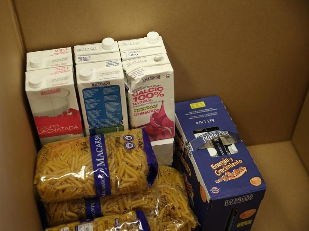 Comienza la campaña de recogida de alimentos en los supermercados