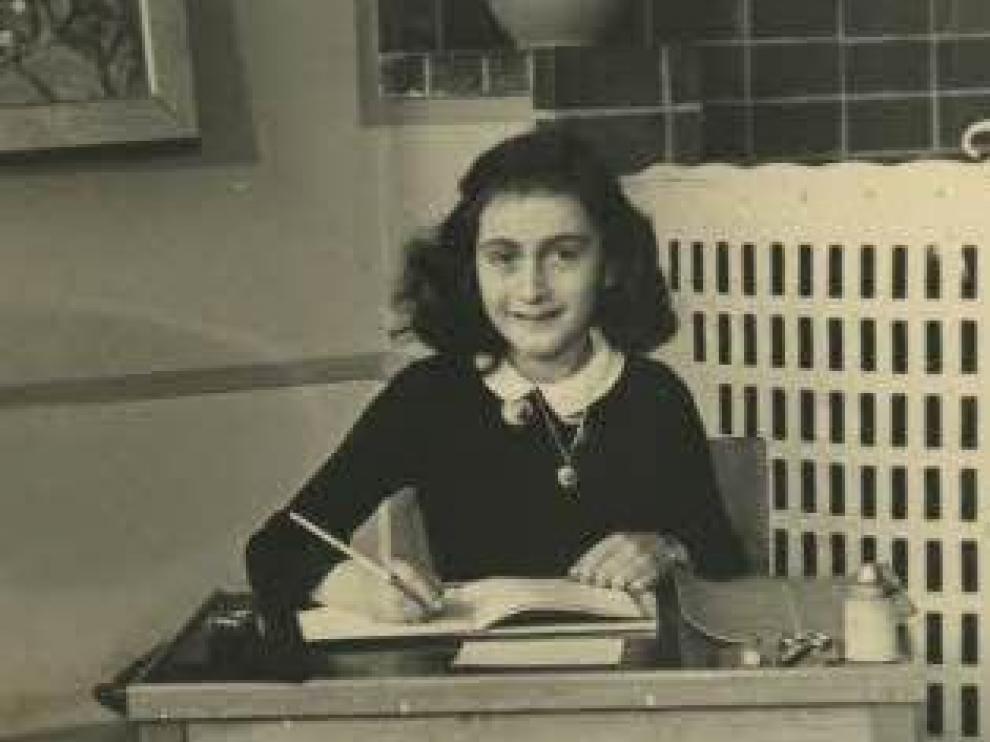Ana Frank en 1940.