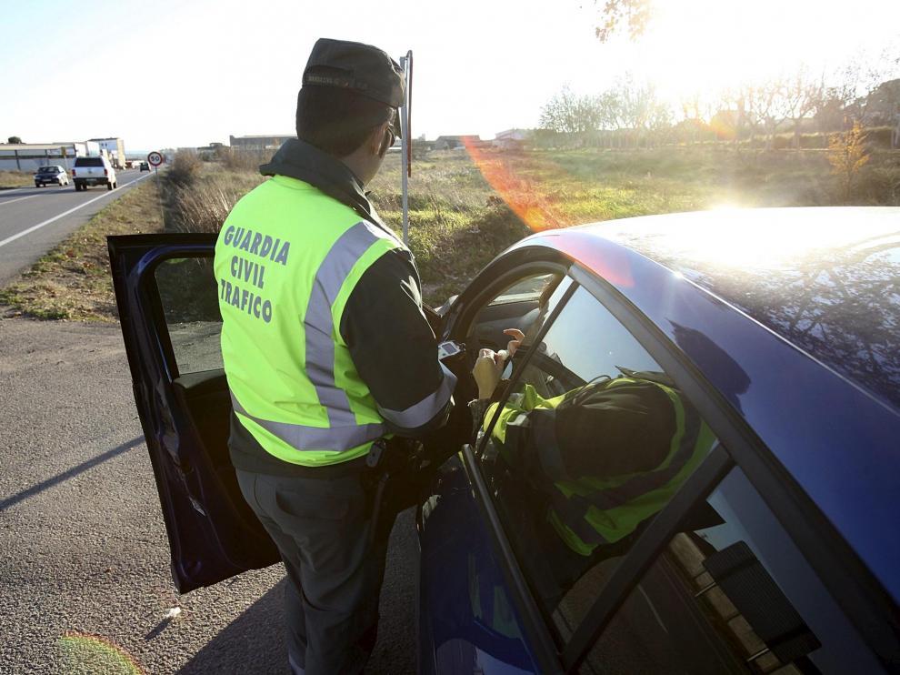 Imagen de archivo de un control de tráfico