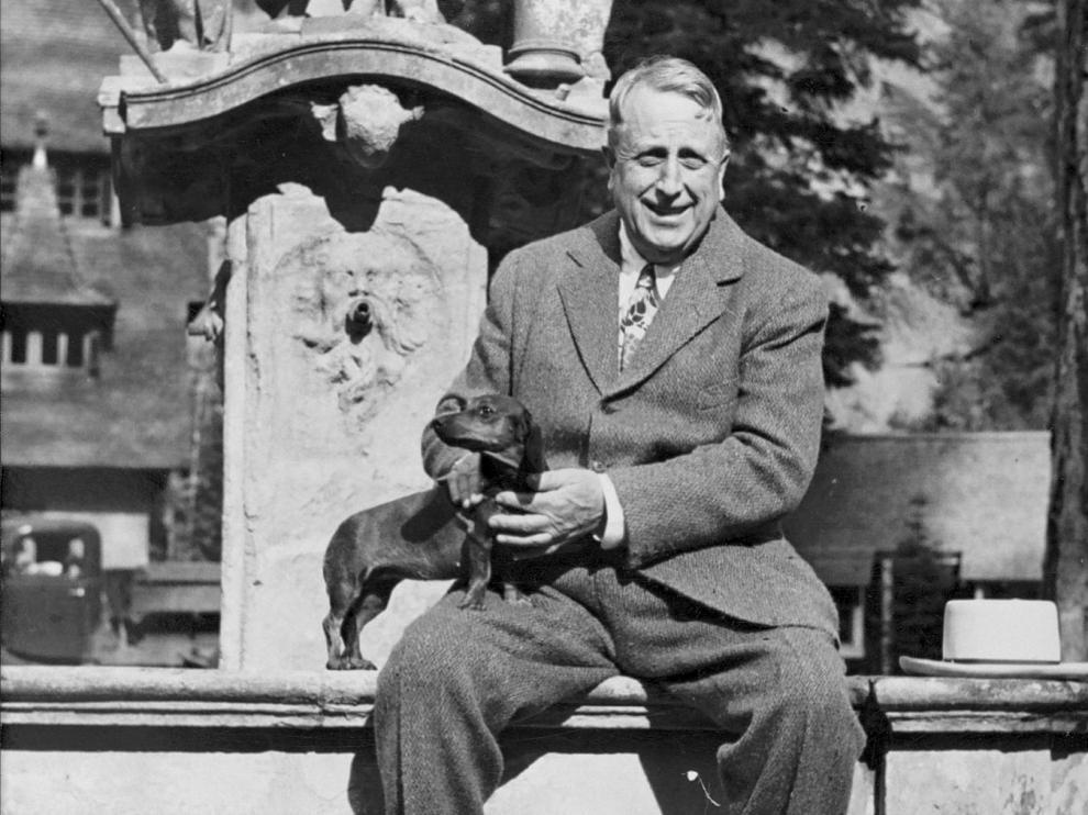 El magnate William R. Hearst.
