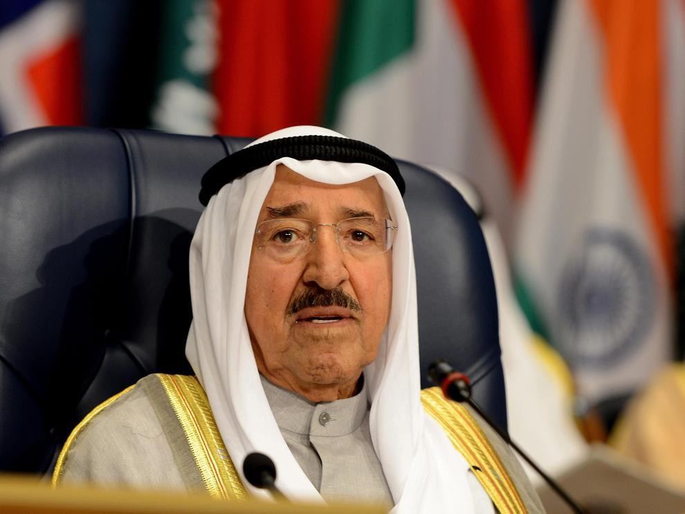 El emir de Kuwait, Sabah al Ahmed al Sabah.