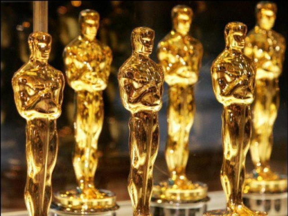 Estatuillas de los Premios Óscar.