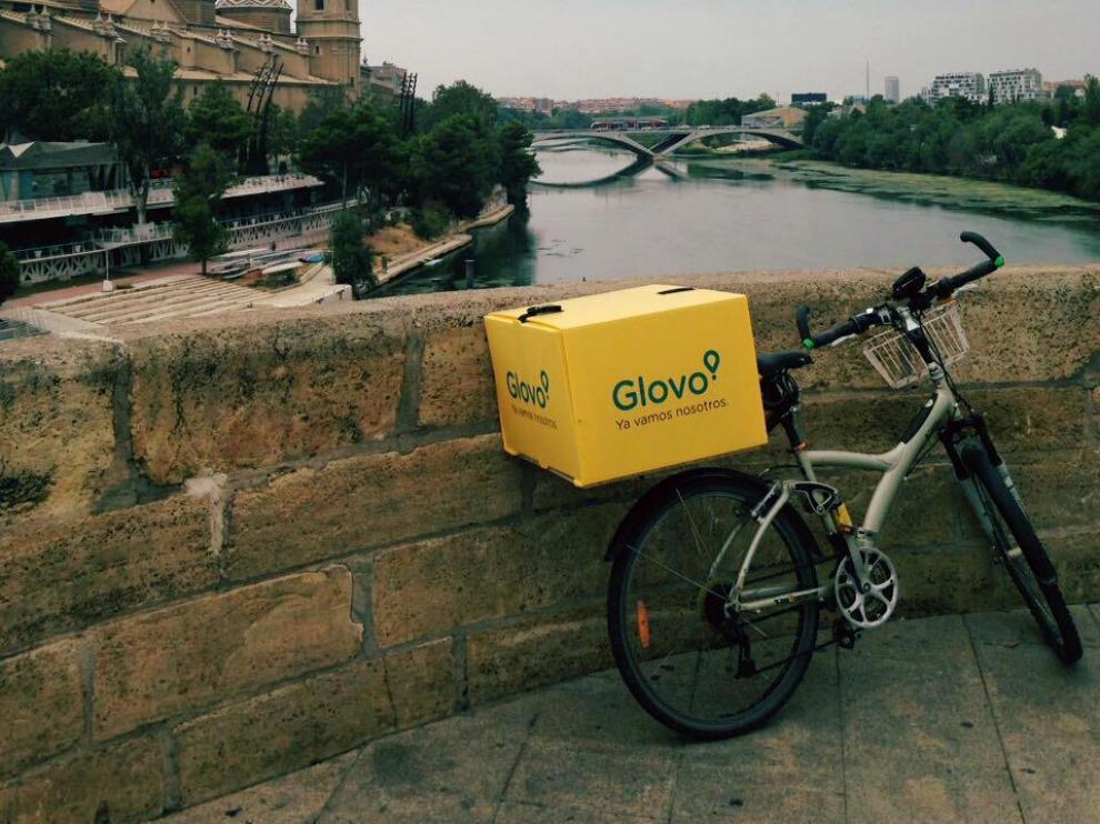 Además de en Zaragoza, Glovo está en Barcelona, Madrid, Valencia, Sevilla, Málaga, Milan y Paris