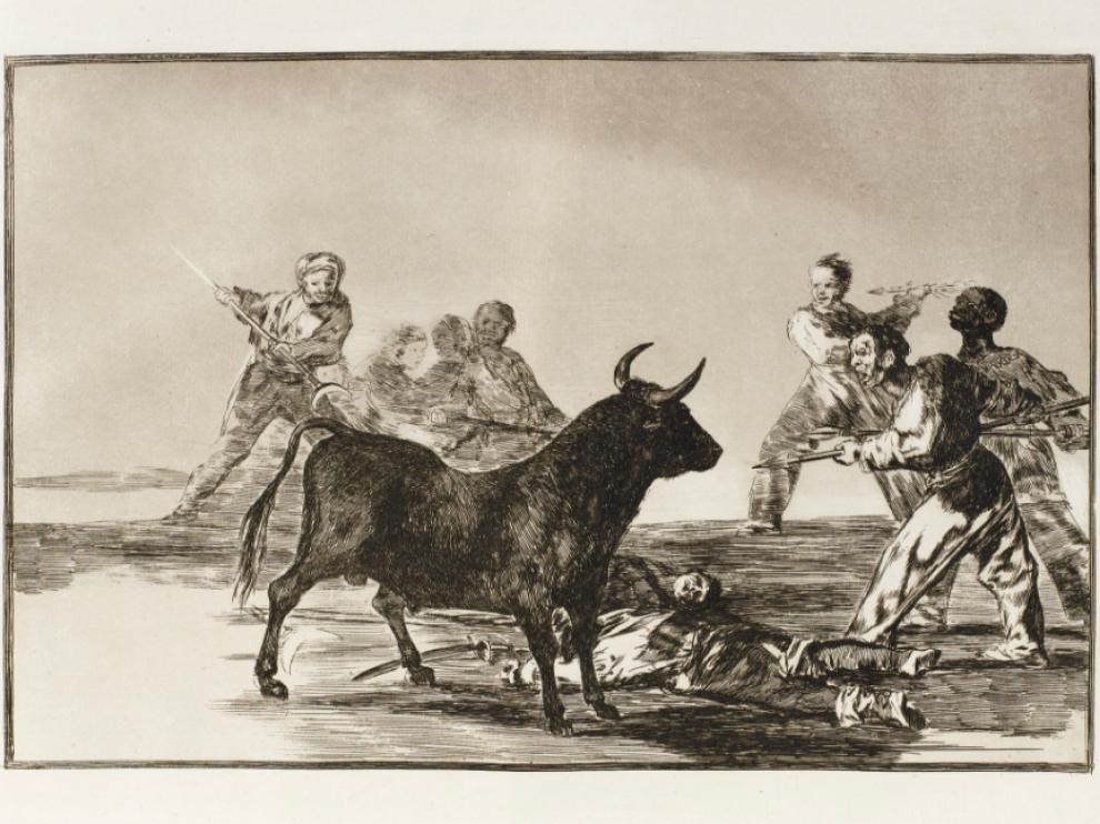 'La Tauromaquia', de Francisco de Goya.