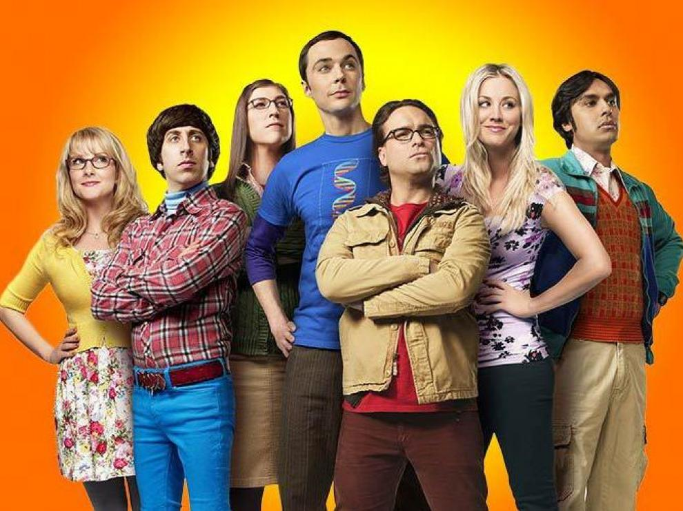 Los principales personajes de 'The Big Bang Theory'.