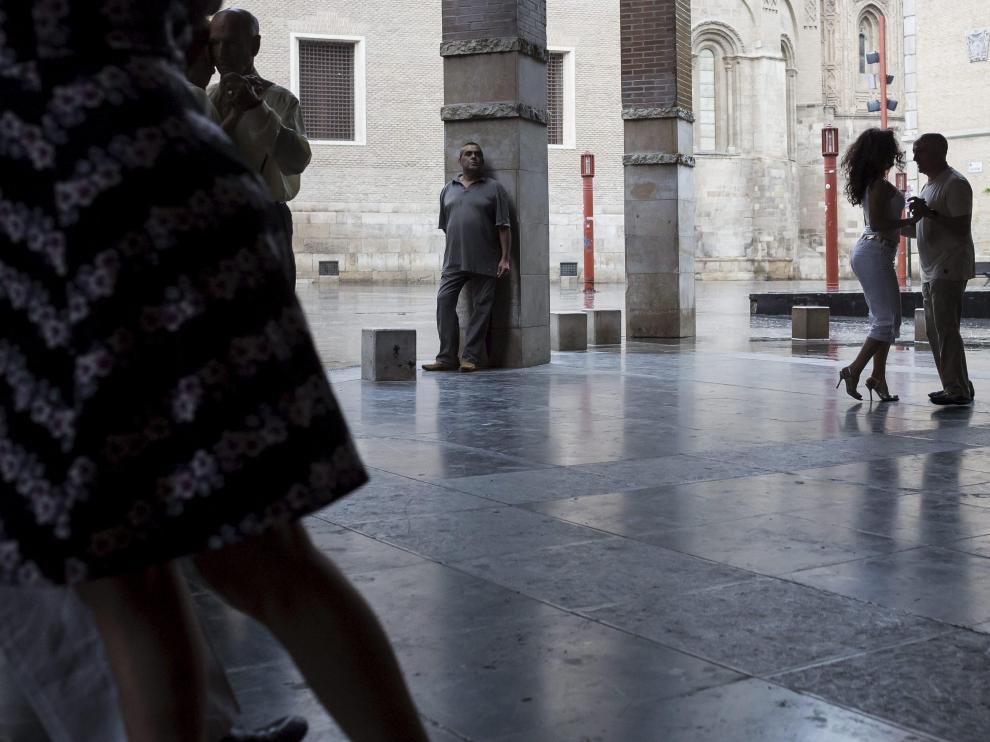 Tango, en la plaza de San Bruno