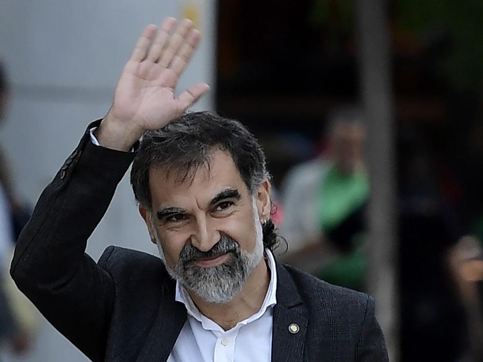 El líder de Ómniun Cultural, Jordi Cuixart.