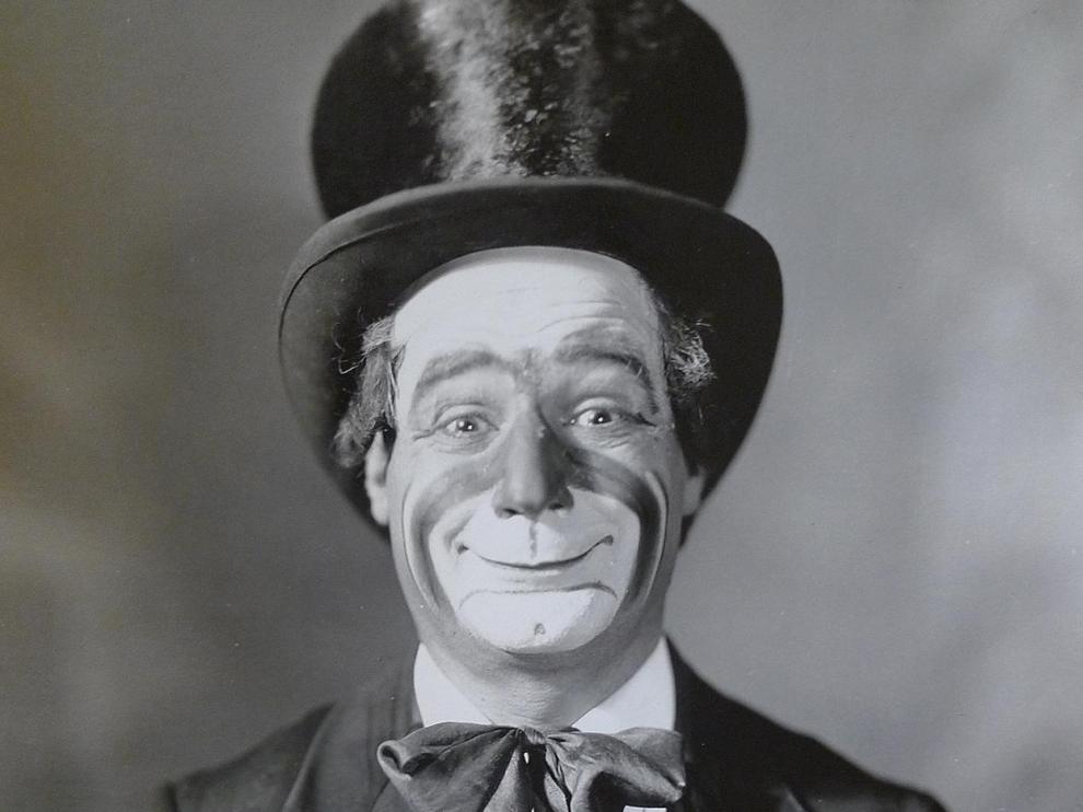 Retrato del payaso Marcelino.