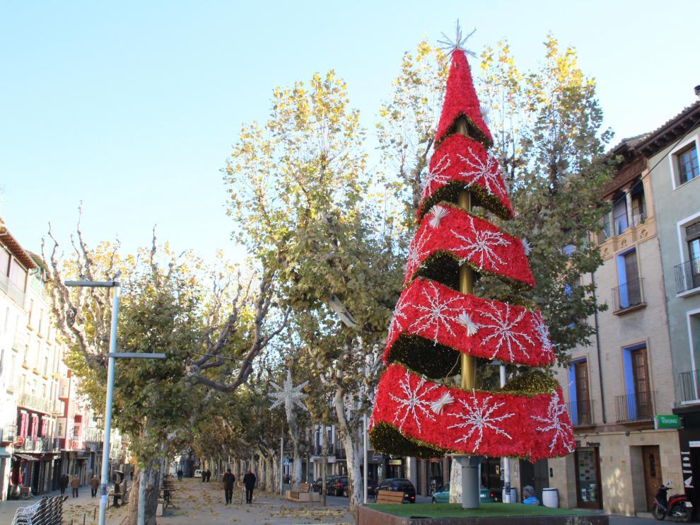 La Navidad llega a Barbastro.