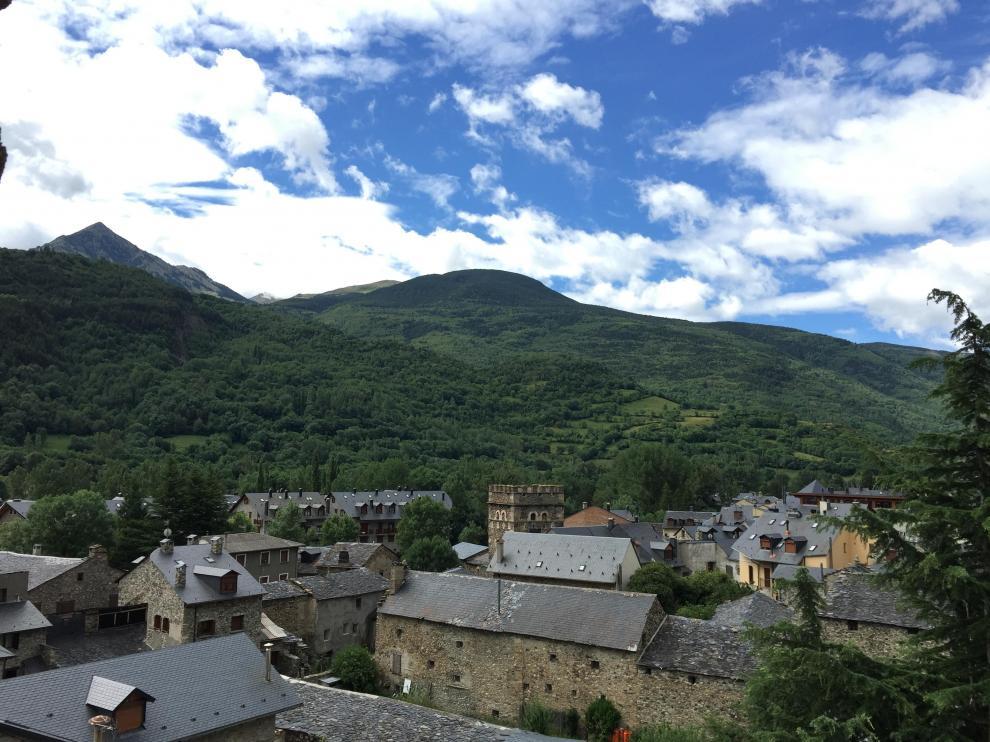 El valle de Benasque ha sido denominado por muchos el 'Chamonix español'.