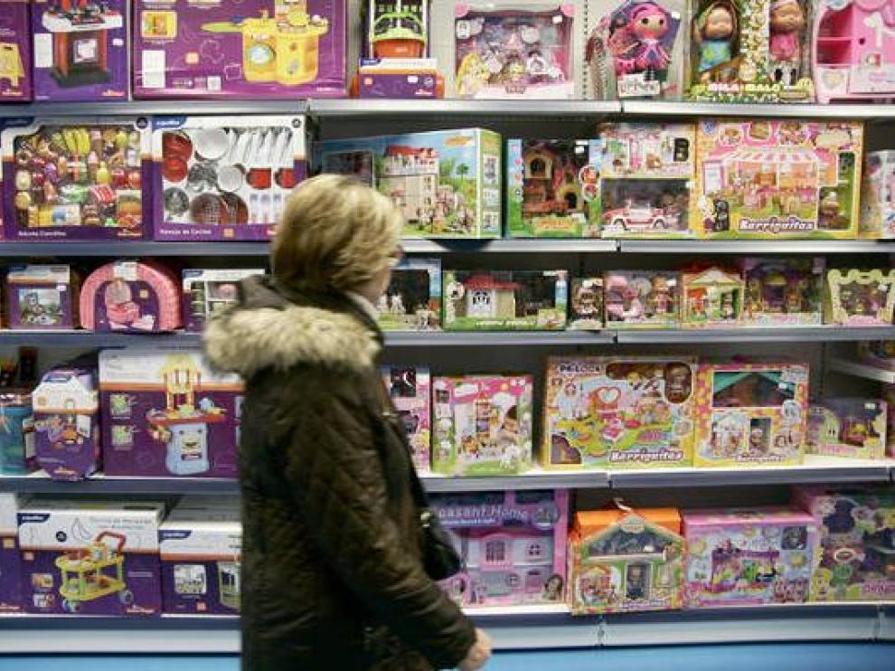 Imagen de archivo de una juguetería.