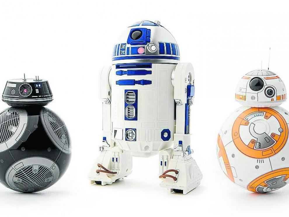 'Star Wars'. La saga de 'La guerra de las galaxias' es un filón inagotable para el sector juguetero. La entrega 'Los últimos Jedi' ya es líder de la taquilla.
