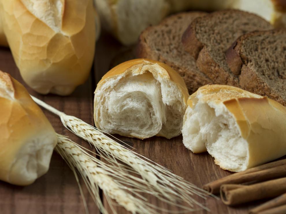 El gluten es la proteína de cereales como el trigo.