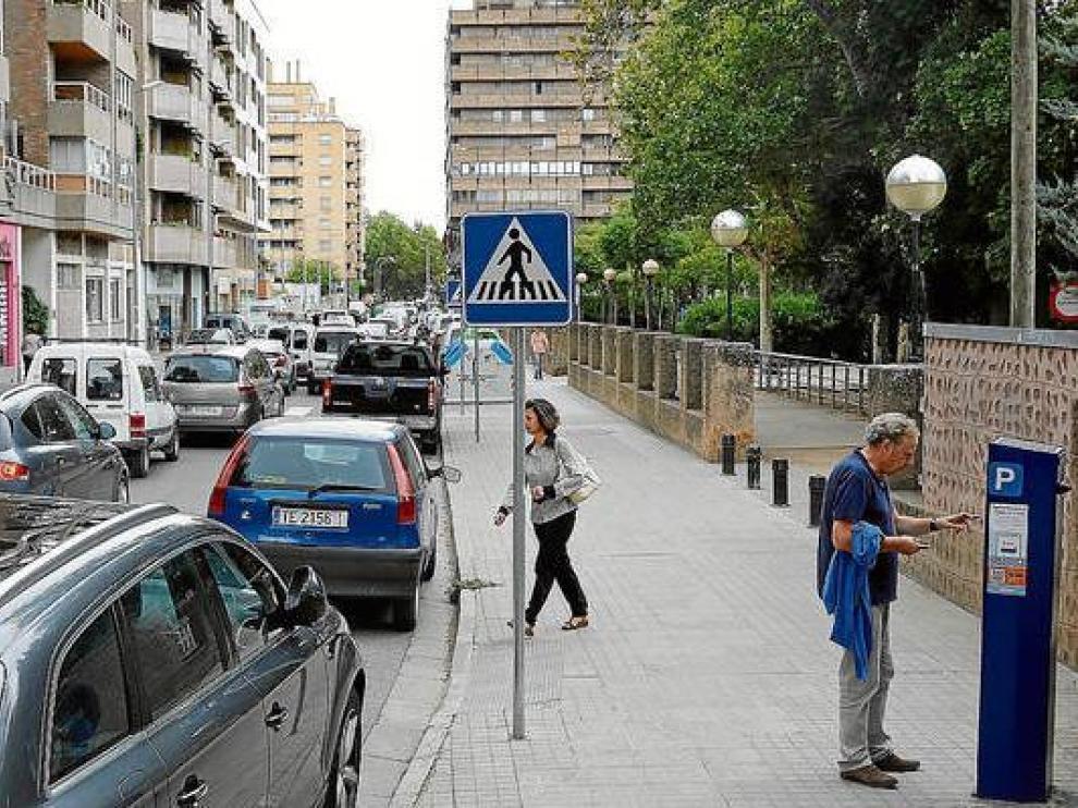 En Zaragoza hay 6.534 plazas en la zona azul o naranja.
