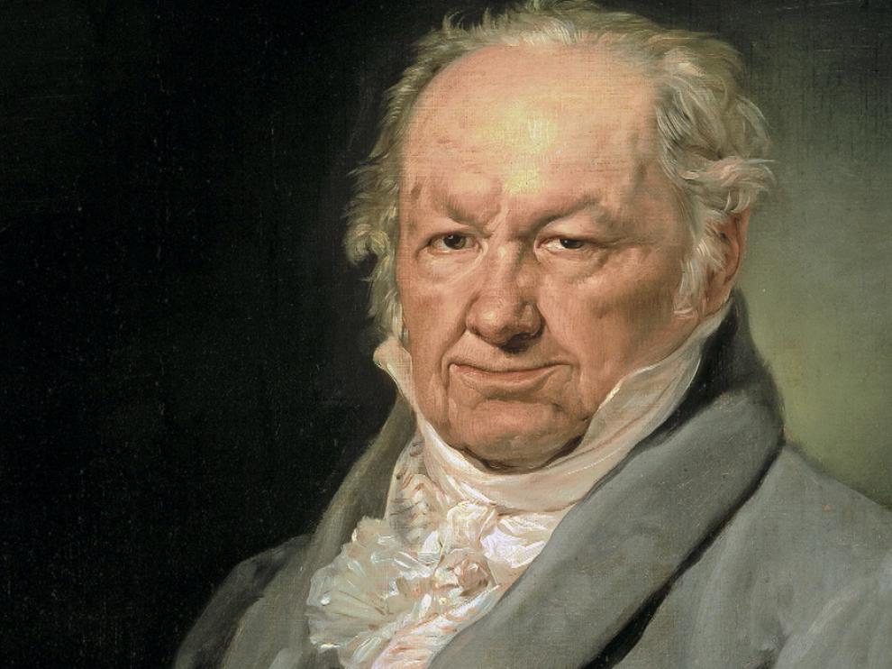 Retrato del pintor Francisco de Goya.
