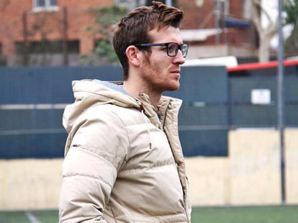 El nuevo entrenador del Zaragoza Femenino, Cristian Aleza