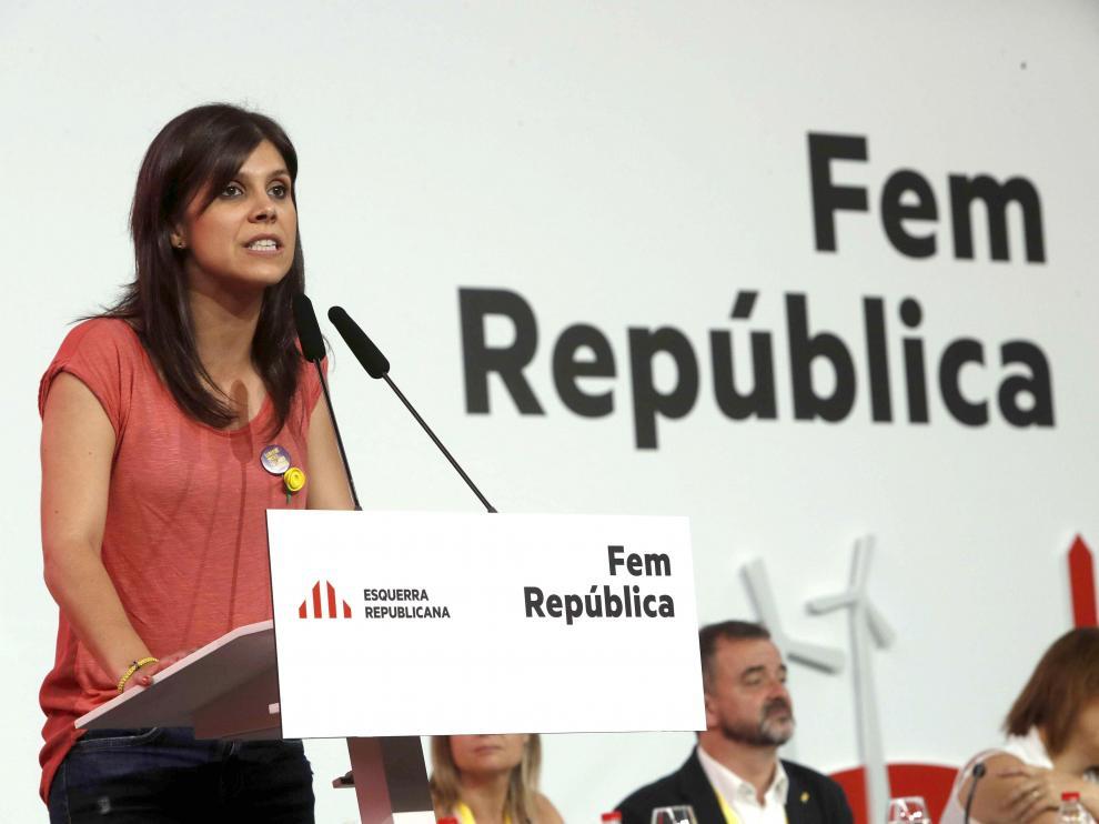 Marta Vilalta, portavoz nacional de ERC.