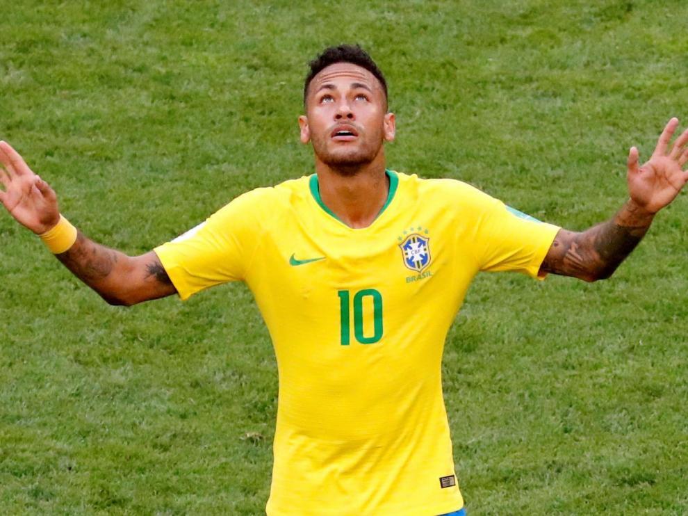 El delantero del París Saint-Germain, el brasileño Neymar.