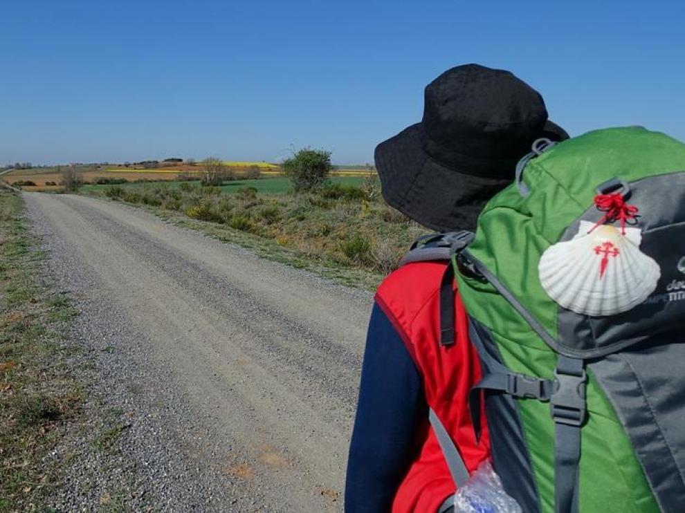 El año pasado, más de 2.700 aragoneses realizaron el Camino de Santiago.