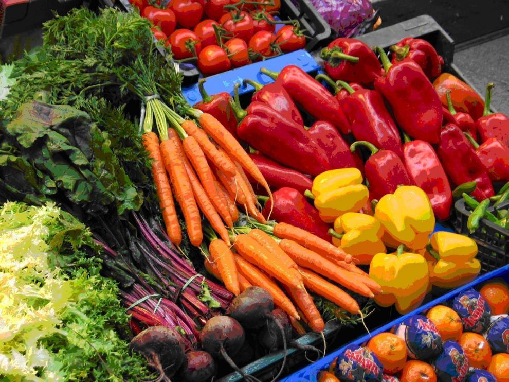 Casi la mitad de los consumidores buscan alimentos saludables.