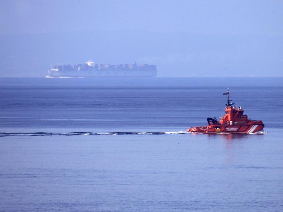 Imagen de archivo de una embarcación de Salvamento Marítimo.
