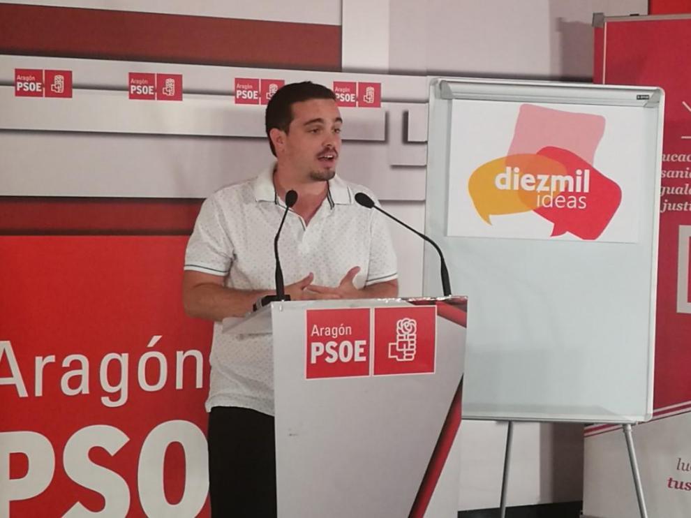 Dario Villagrasa, en la presentación de la campaña