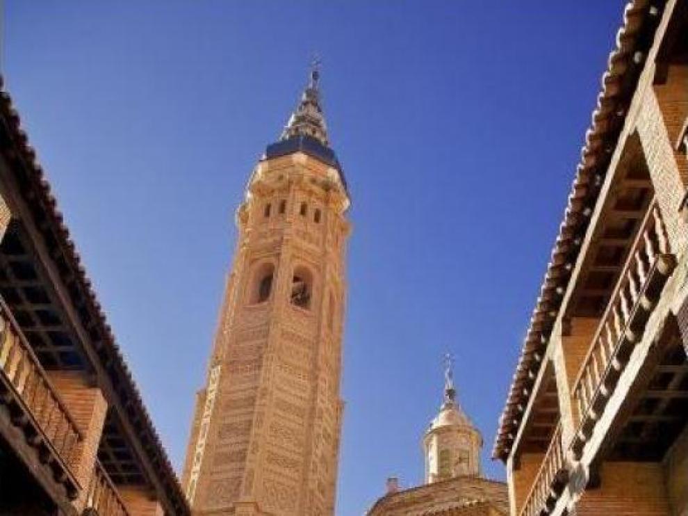 Torre de la Colegiata de Santa María de Calatayud.