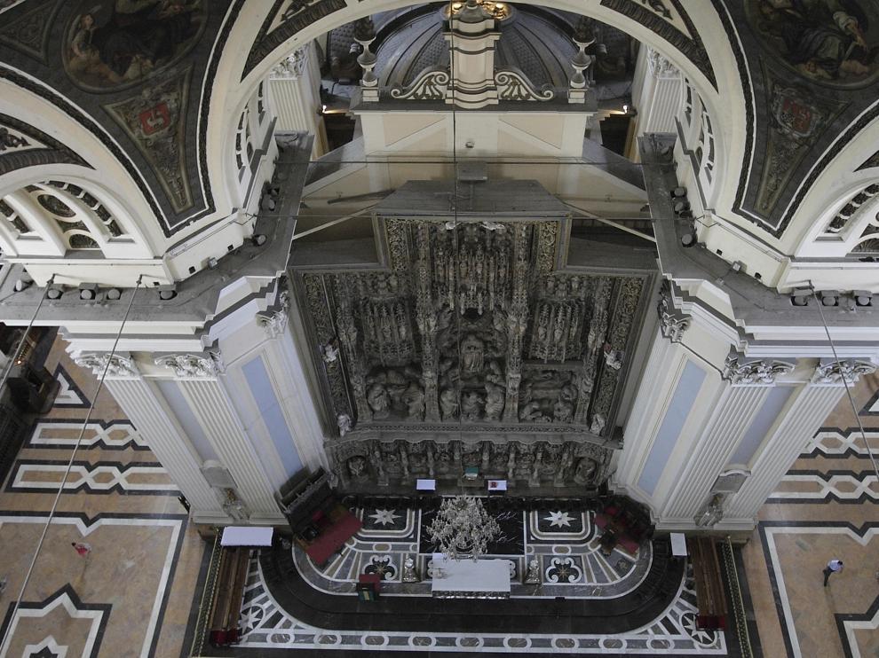 Retablo del Altar Mayor de la Basílica del Pilar de Zaragoza