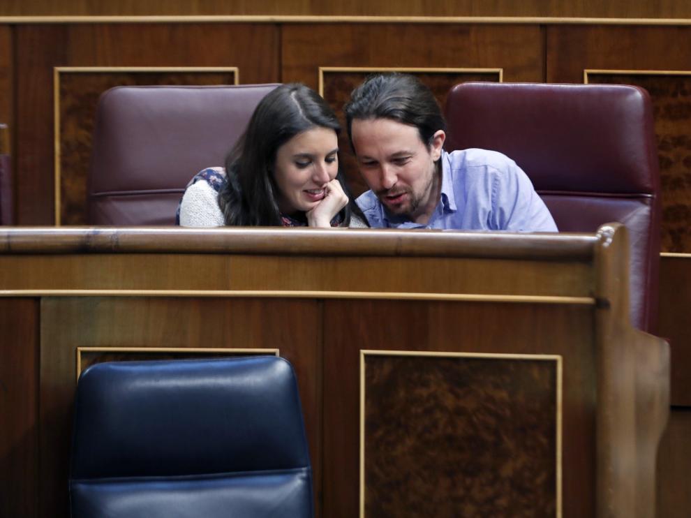 Irene Montero y Pablo Iglesias ya han podido llevarse a casa a sus bebés.