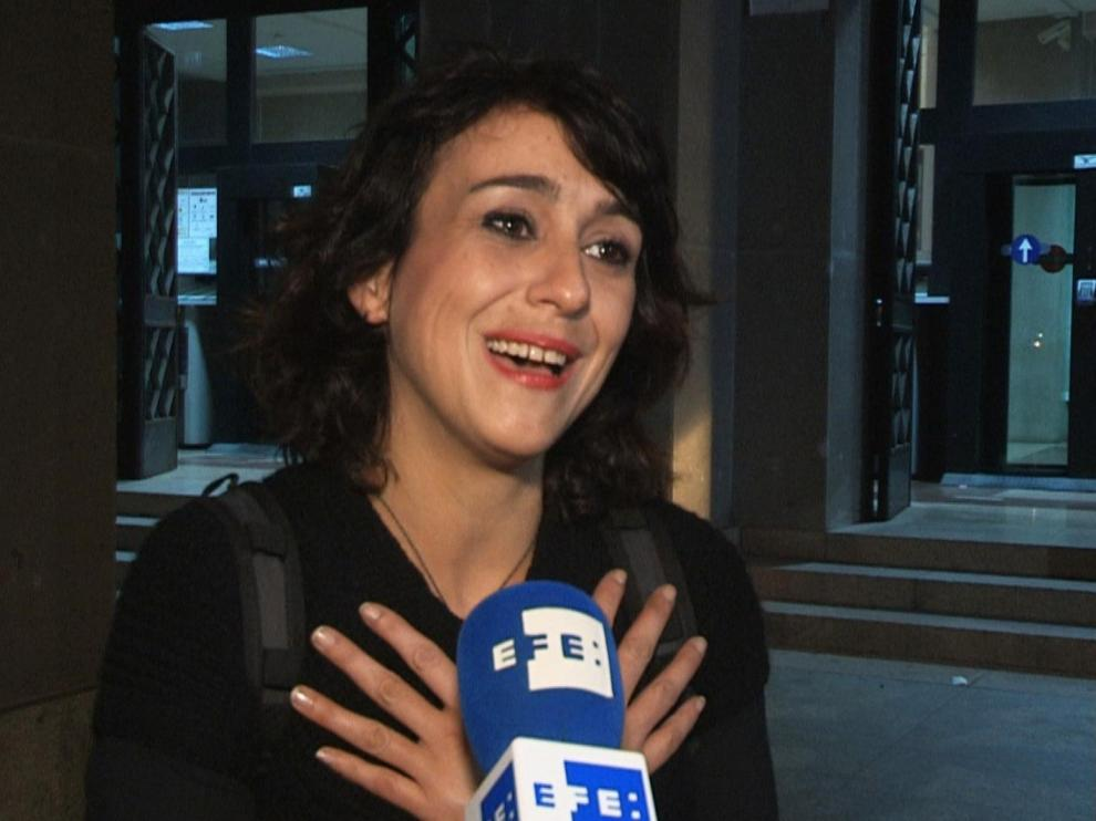 Juana Rivas, esperanzada en Italia tras las declaraciones de su hijo mayor en el juzgado que decidirá sobre la custodia