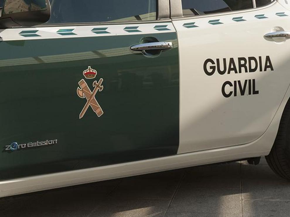 Imagen de archivo de un vehículo de la Guardia Civil.