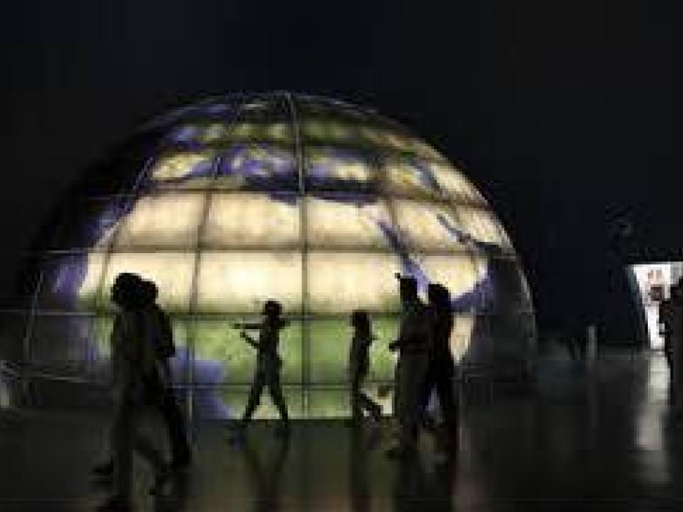 El planetario de Huesca es una de las visitas que sorprenden tanto a niños como a adultos.