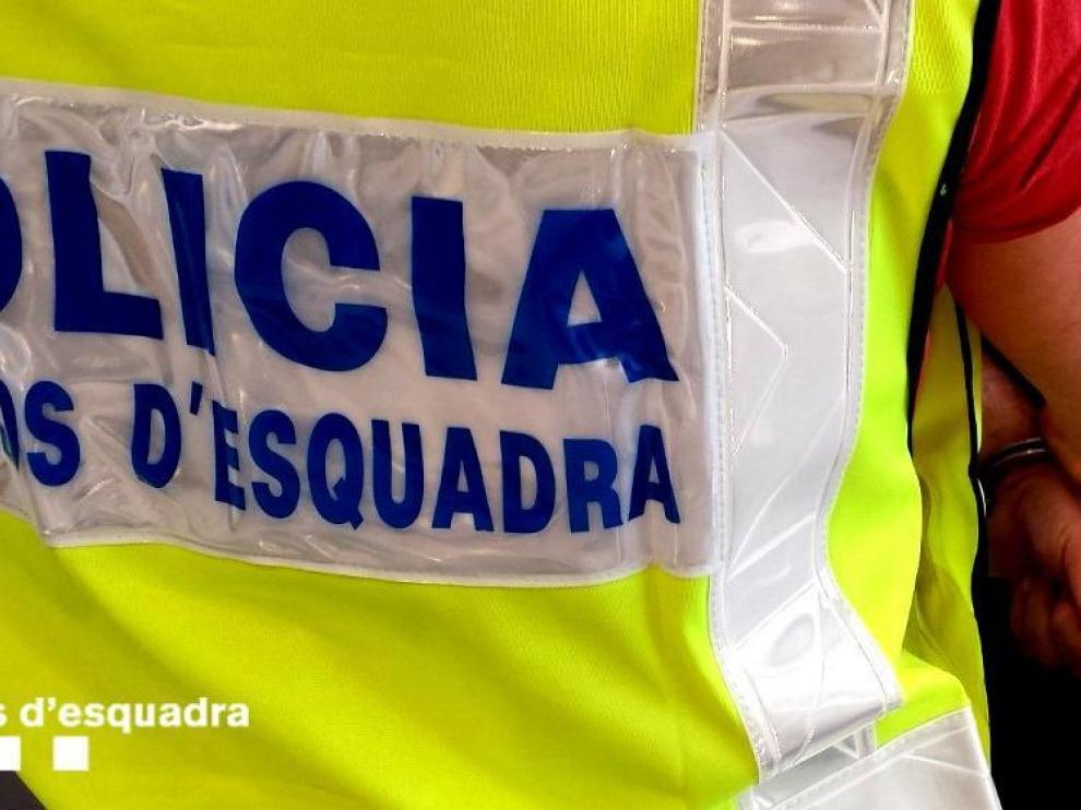 Foto de archivo de una detención de los mossos