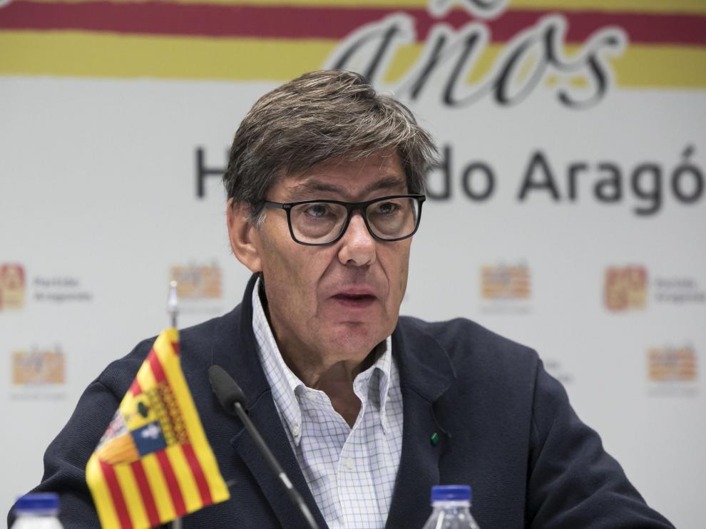 El presidente del PAR, Arturo Aliaga, en imagen de archivo.
