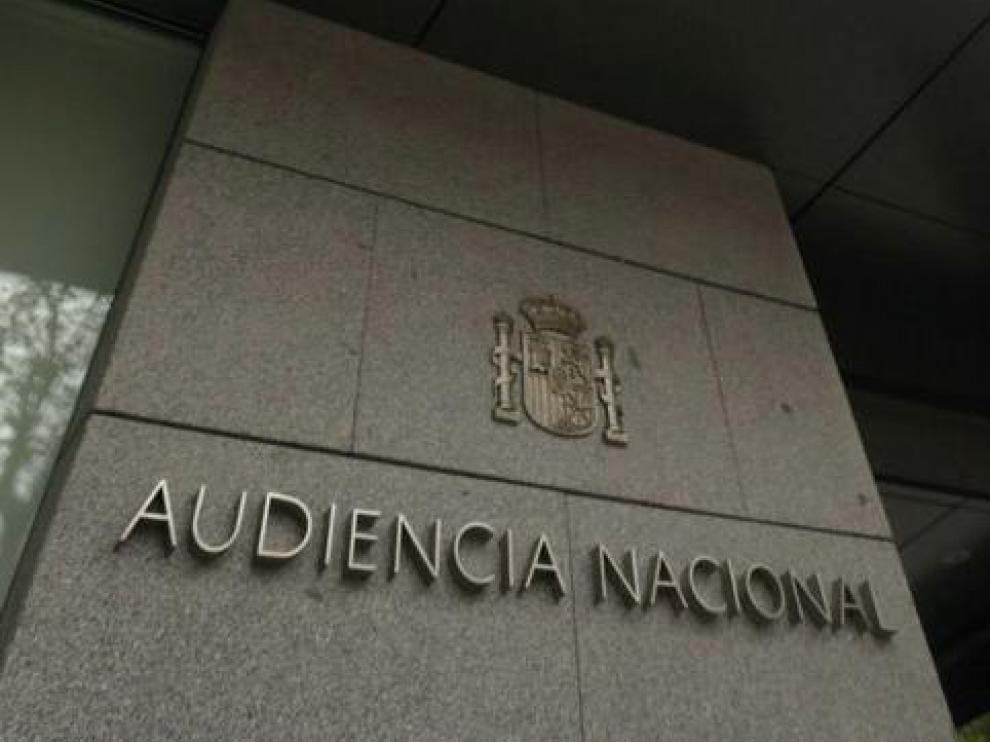 Fachada Audiencia Nacional.