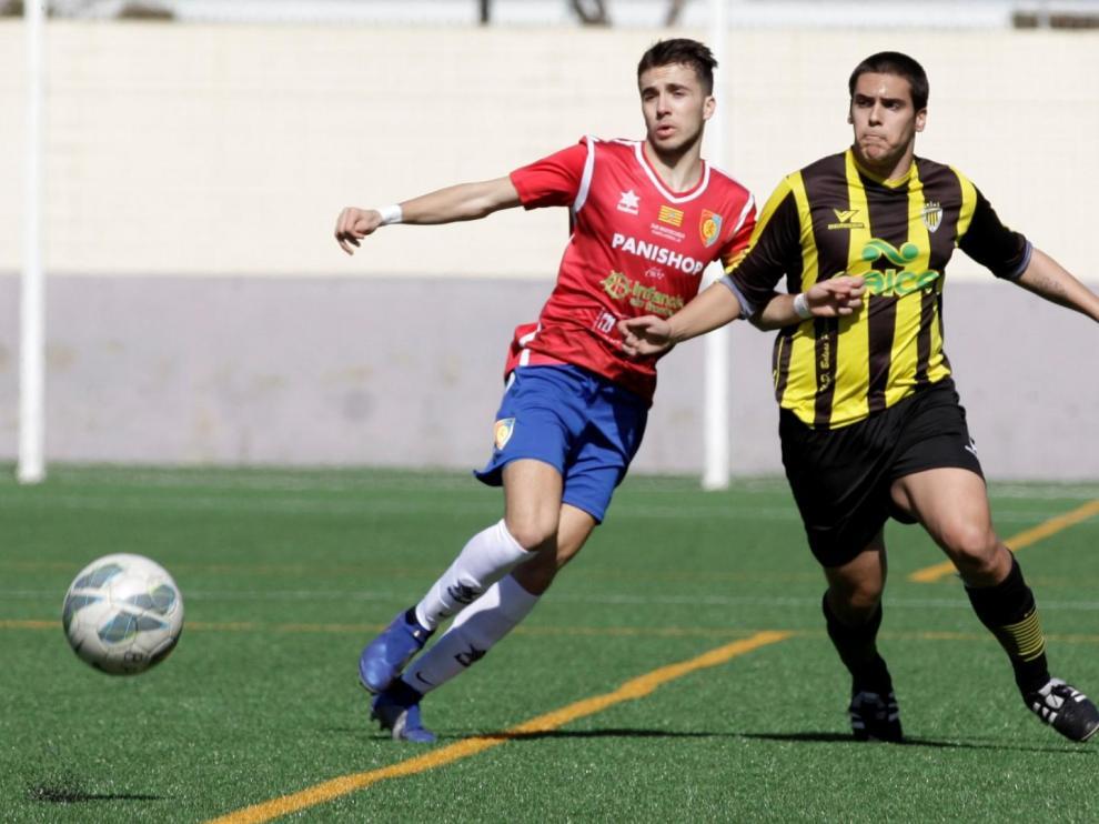 Fútbol. LNJ- Balsas vs. Montecarlo. Rubén Losada